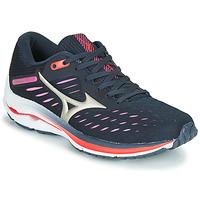 Schoenen Dames Running / trail Mizuno WAVE RIDER 24 Violet / Roze