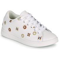 Schoenen Dames Lage sneakers Desigual COSMIC JULIETTE Wit