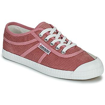 Schoenen Dames Lage sneakers Kawasaki CORDUROY Roze