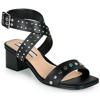 Schoenen Dames Sandalen / Open schoenen Pepe jeans ROMY STUDS Zwart
