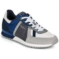 Schoenen Heren Lage sneakers Pepe jeans TINKER ZERO 21 Grijs / Blauw