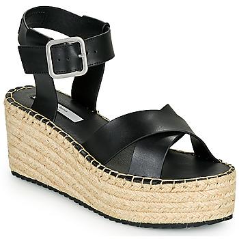 Schoenen Dames Sandalen / Open schoenen Pepe jeans WITNEY ELLA Zwart