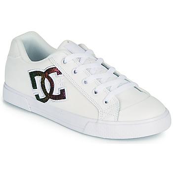 Schoenen Dames Skateschoenen DC Shoes CHELSEA J Wit / Roze