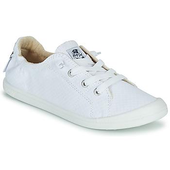 Schoenen Dames Lage sneakers Roxy BAYSHORE III Wit