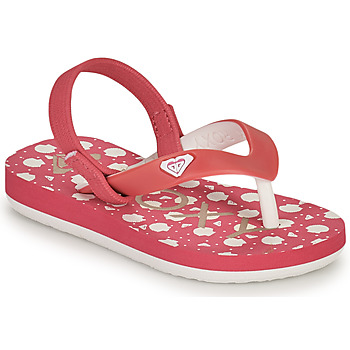Schoenen Meisjes Teenslippers Roxy TW TAHITI VI Roze