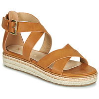 Schoenen Dames Sandalen / Open schoenen Ravel EMMY Camel