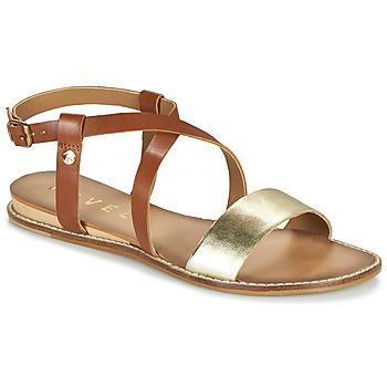 Schoenen Dames Sandalen / Open schoenen Ravel ASPEN Goud / Camel