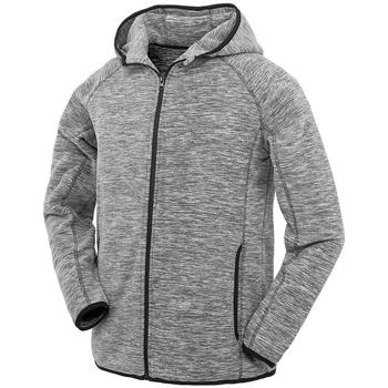Textiel Heren Sweaters / Sweatshirts Spiro S245M Grijs/Zwart