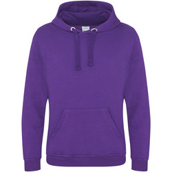 Textiel Heren Sweaters / Sweatshirts Awdis JH101 Paars