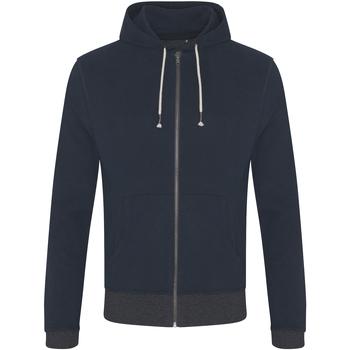 Textiel Heren Sweaters / Sweatshirts Ecologie EA051 Marine/Charcoal