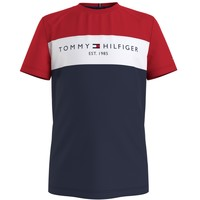 Textiel Jongens T-shirts korte mouwen Tommy Hilfiger KB0KB06534-C87 Multicolour