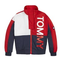 Textiel Kinderen Wind jackets Tommy Hilfiger KS0KS00186-XNL Multicolour