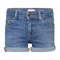 Textiel Meisjes Korte broeken / Bermuda's Tommy Hilfiger KG0KG05773-1A4 Blauw