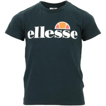 Textiel Kinderen T-shirts korte mouwen Ellesse Malia Tee Jr Blauw
