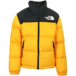 Textiel Kinderen Wind jackets The North Face 1996 Retro Nuptse Jacket Kids Geel