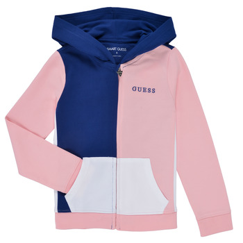 Textiel Meisjes Sweaters / Sweatshirts Guess K1RQ00-KA6R0-F672 Wit / Roze