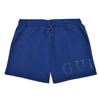 Textiel Meisjes Korte broeken / Bermuda's Guess J1GD00-KAN00-PSBL Marine