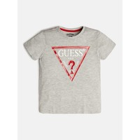 Textiel Jongens T-shirts korte mouwen Guess L73I55-K5M20-M90 Grijs