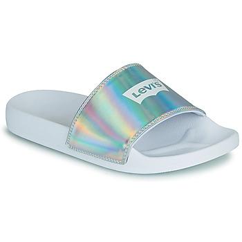 Schoenen Dames slippers Levi's JUNE BATWING S Zilver