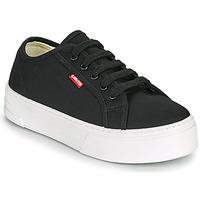 Schoenen Dames Lage sneakers Levi's TIJUANA Zwart