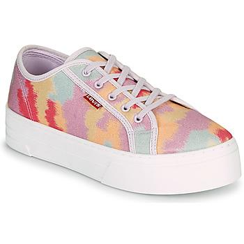 Schoenen Dames Lage sneakers Levi's TIJUANA Multicolour