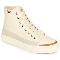 Schoenen Dames Hoge sneakers Levi's SQUARE HIGH S Wit