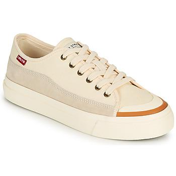 Schoenen Dames Lage sneakers Levi's SQUARE LOW S Wit