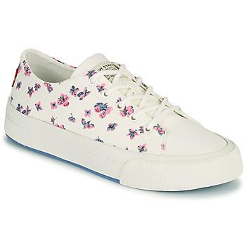 Schoenen Dames Lage sneakers Levi's SUMMIT LOW S Wit