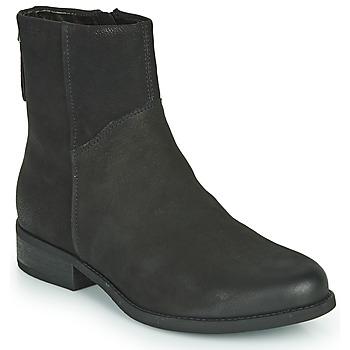 Schoenen Dames Enkellaarzen Vagabond Shoemakers CARY Zwart