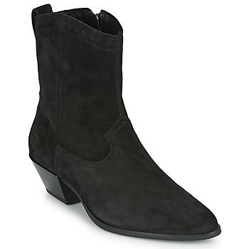 Schoenen Dames Enkellaarzen Vagabond Shoemakers EMILY Zwart