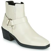 Schoenen Dames Enkellaarzen Vagabond Shoemakers SIMONE Wit