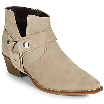 Schoenen Dames Hoge laarzen Steve Madden GOLDA Beige