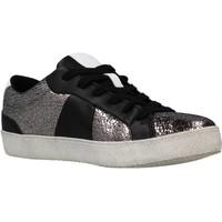 Schoenen Dames Lage sneakers Geox D WARLEY Grijs