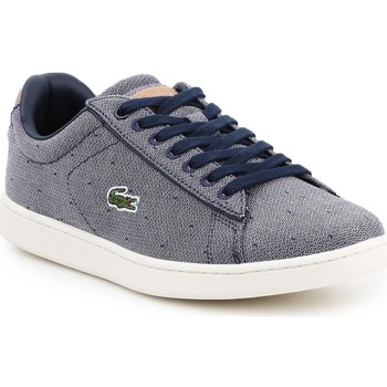Schoenen Dames Lage sneakers Lacoste Carnaby Evo 218 3 SPW 7-35SPW0018B98 navy , white