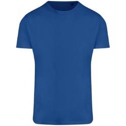 Textiel Heren T-shirts korte mouwen Ecologie EA004 Koningsblauw