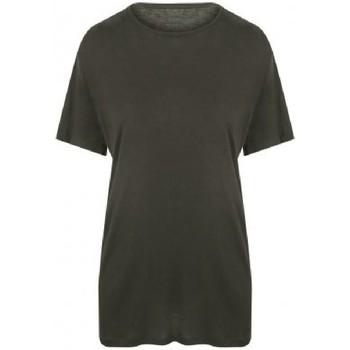 Textiel Heren T-shirts korte mouwen Ecologie EA002 Fern Green
