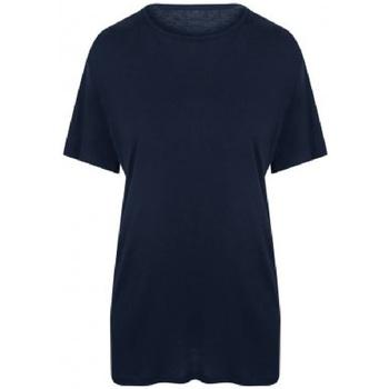 Textiel Heren T-shirts korte mouwen Ecologie EA002 Marine