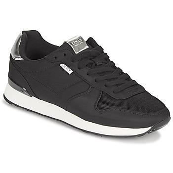 Schoenen Dames Lage sneakers Only SAHEL 4 Zwart / Zilver