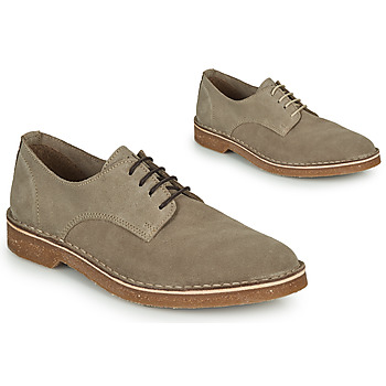 Schoenen Heren Derby Selected RIGA SUEDE DERBY Zand