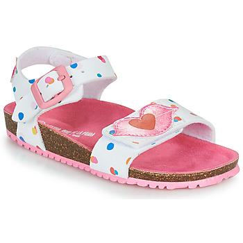 Schoenen Meisjes Sandalen / Open schoenen Agatha Ruiz de la Prada BIO Wit