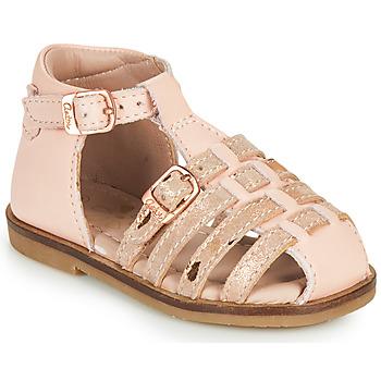 Schoenen Meisjes Sandalen / Open schoenen Aster NINI Roze