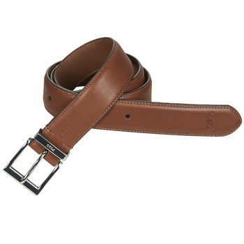 Accessoires Heren Riemen Polo Ralph Lauren S BAR DRS BT-CASUAL-SMOOTH LEATHER Bruin