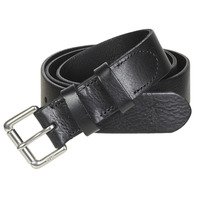Accessoires Heren Riemen Polo Ralph Lauren OFFC PLQ RLR-CASUAL-SMOOTH LEATHER Zwart