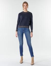 Textiel Dames Straight jeans Le Temps des Cerises PULP HIGHREG Blauw / Clair