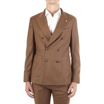 Textiel Heren Jasjes / Blazers Manuel Ritz 2932G2738Y-200501 Cammello
