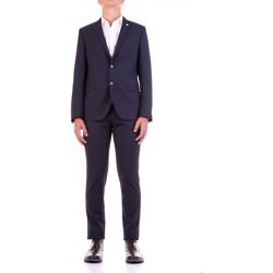 Textiel Heren Kostuums Manuel Ritz 2932A3318-203554 Blu