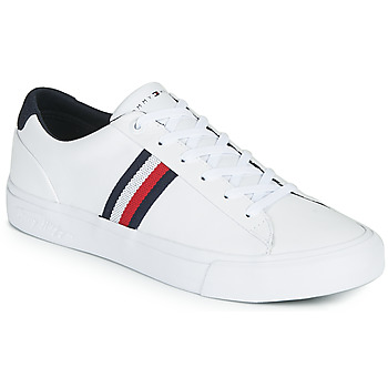Schoenen Heren Lage sneakers Tommy Hilfiger CORPORATE LEATHER SNEAKER Wit