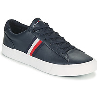 Schoenen Heren Lage sneakers Tommy Hilfiger CORPORATE LEATHER SNEAKER Marine