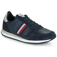 Schoenen Heren Lage sneakers Tommy Hilfiger RUNNER LO LEATHER STRIPES Marine