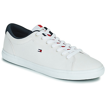 Schoenen Heren Lage sneakers Tommy Hilfiger ESSENTIAL CHAMBRAY VULCANIZED Wit